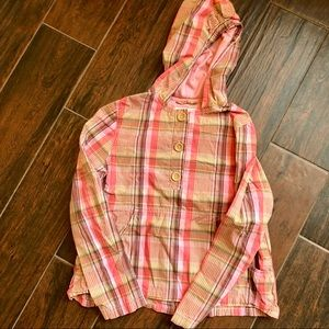Gap kids pink long sleeve blouse size L (10)
